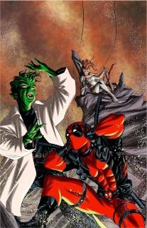 Angela: Queen of Hel #4 (McKone Deadpool Cover)