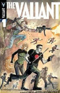The Valiant #1 (20 Copy Lemire & Kindt Cover)