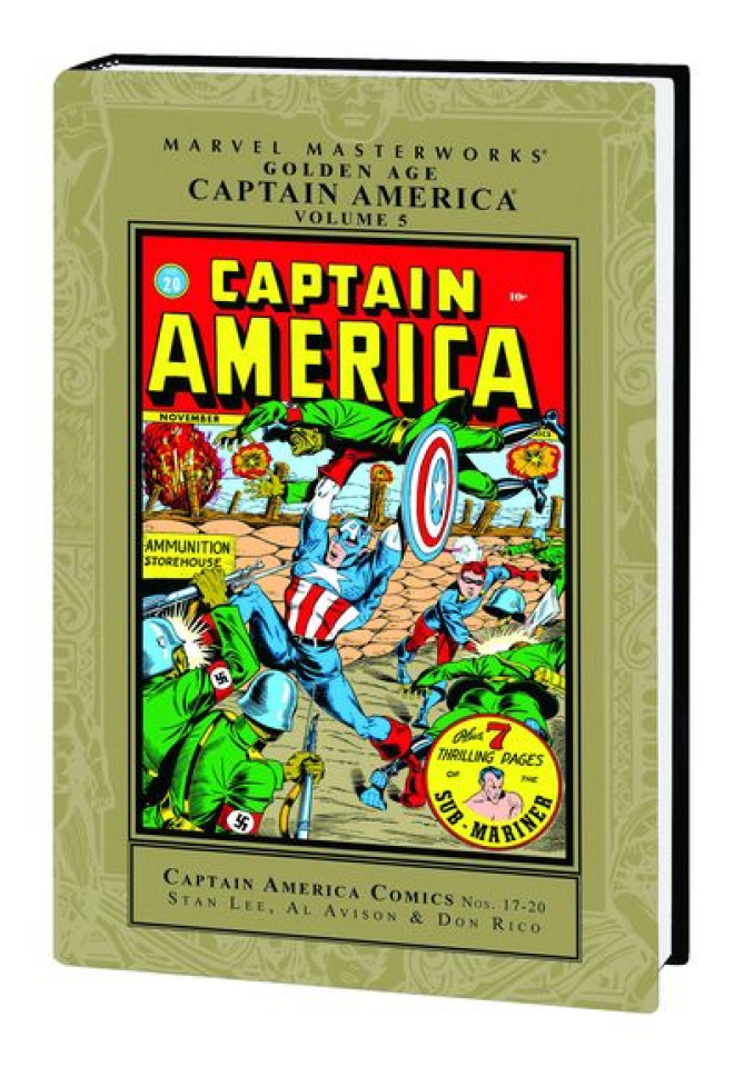 Golden Age Captain America Vol. 5 (Marvel Masterworks)