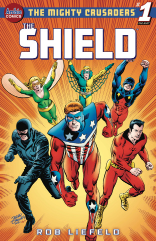 Mighty Crusaders: The Shield (Jerry Ordway Cover)