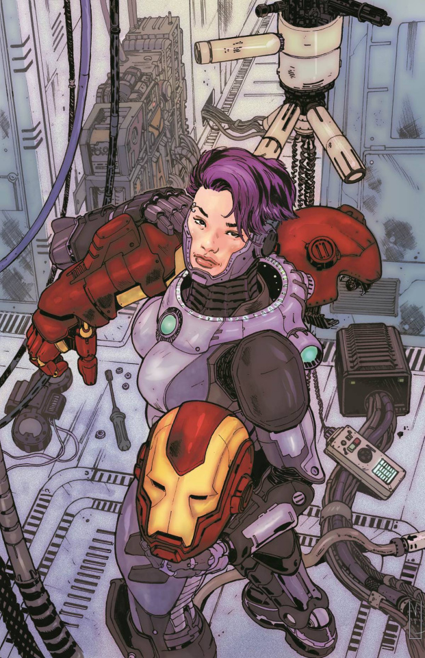 Armor Wars #2 (Ibanez Cover)