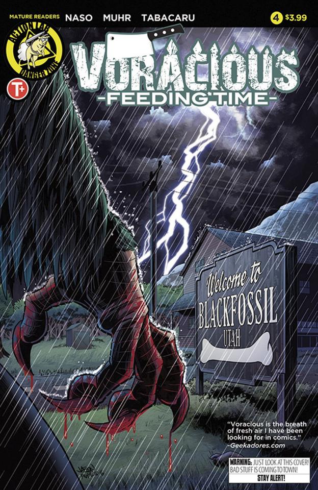 Voracious: Feeding Time #4 (Muhr Cover)
