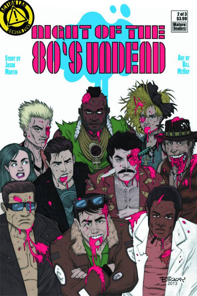Night of the 80's Undead #2