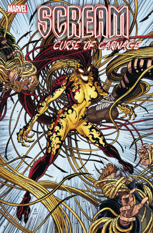 Scream: Curse of Carnage #1 (Bradshaw Cover)