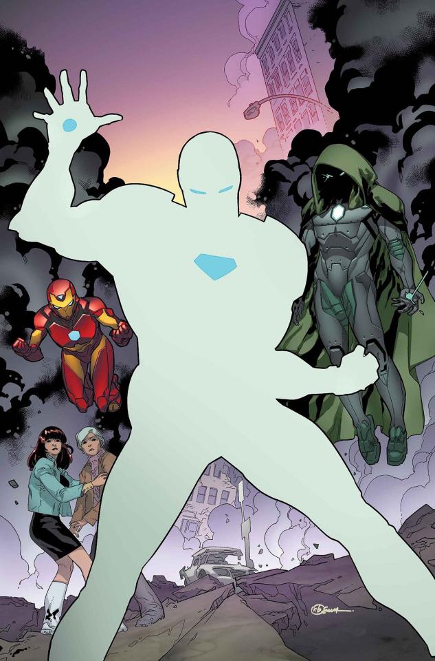 Invincible Iron Man #594: Legacy