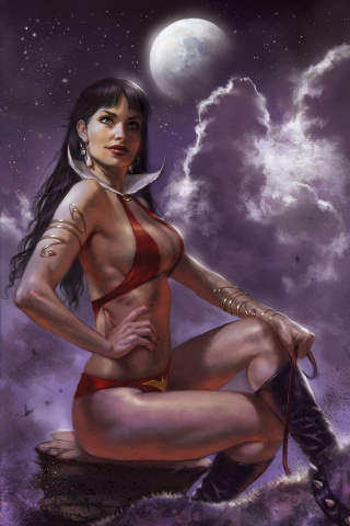 Vampirella #6 (35 Copy Parrillo Virgin Sneak Peek Cover)