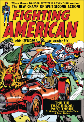 Fighting American: The Ties That Bind #4 (Kirby Cover)