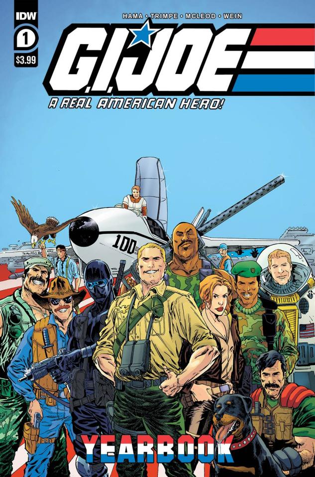 G.I. Joe: A Real American Hero Yearbook #1
