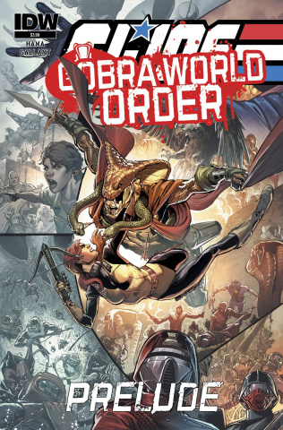 G.I. Joe: Cobra World Order Prelude (Cover B)