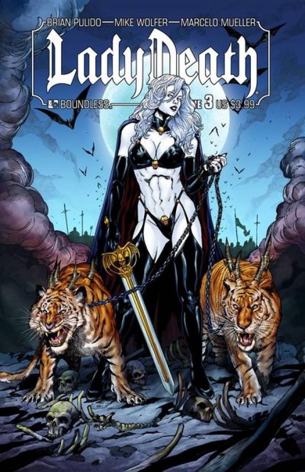 Lady Death #3