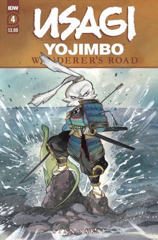 Usagi Yojimbo: Wanderer's Road #4 (Peach Momoko Cover)