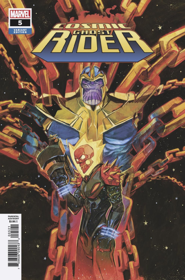 Cosmic Ghost Rider #5 (Shavrin Cover)