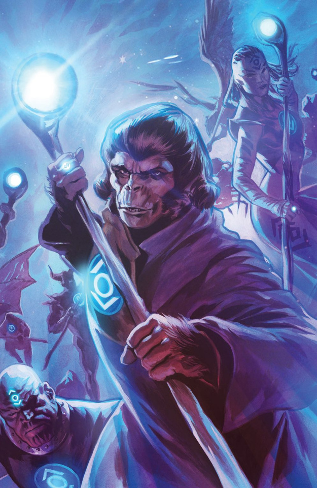 The Planet of the Apes / The Green Lantern #5 (40 Copy Massafera Cover)