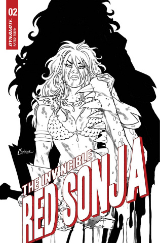 The Invincible Red Sonja #2 (15 Copy Conner Line Art Cover)