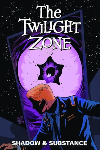 The Twilight Zone: Shadow & Substance #4 (Francavilla Cover)