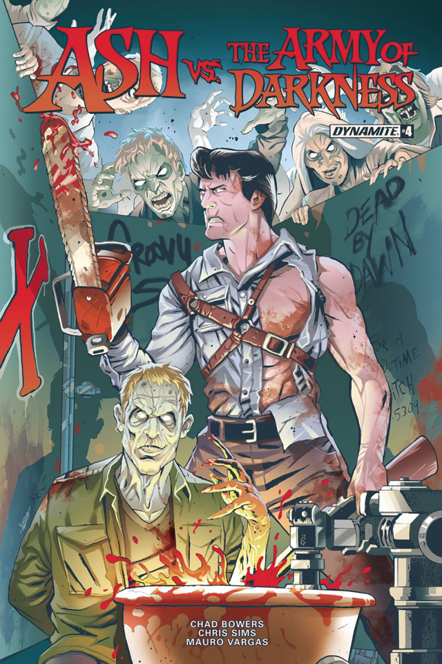 Ash vs. The Army of Darkness #4 (Schoonover Cover)