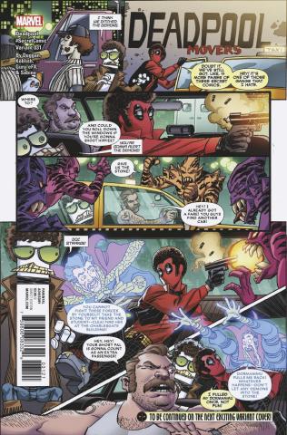 Deadpool #31 (Koblish Secret Cover)