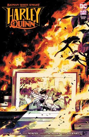 Batman: White Knight Presents Harley Quinn #5 (Matteo Scalera Cover)