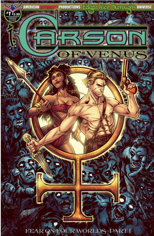 Carson of Venus: Fear on Four Worlds #1 (Visions of Venus Cover)