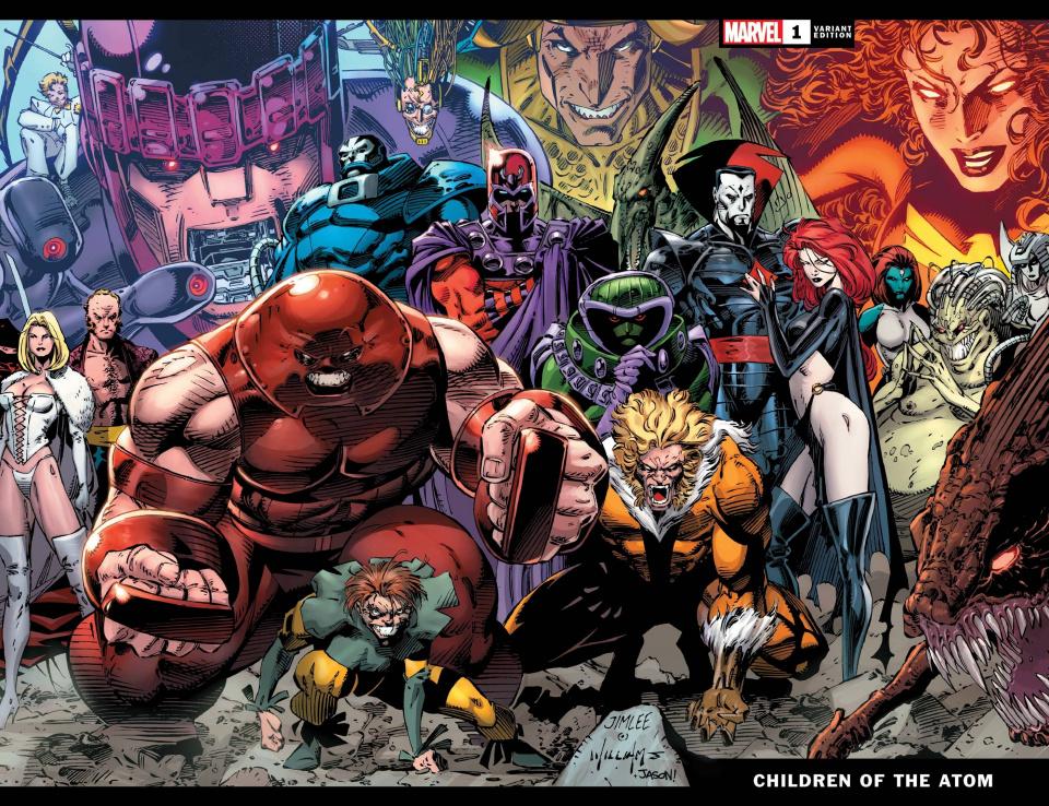 X-Men: Children of the Atom #1 (Jim Lee Hidden Gem Cover)