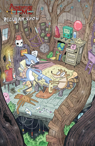 Adventure Time: Regular Show #6 (10 Copy Smigiel Cover)