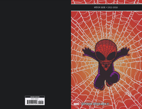 The Superior Spider-Man #1 (Young Cover)