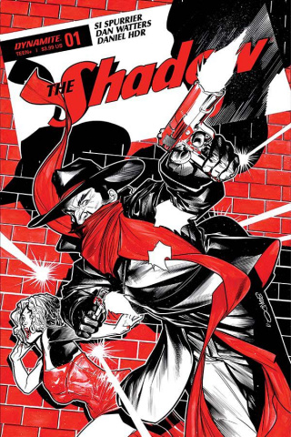 The Shadow #1 (Peterson CoveR)