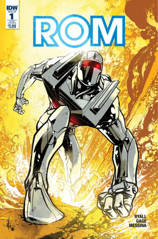 ROM #1 (Howard Cover)