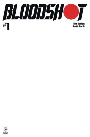 Bloodshot #1 (Blank Cover)