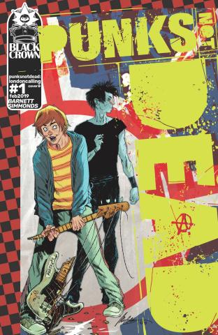 Punk's Not Dead: London Calling #1 (Albuquerque Cover)