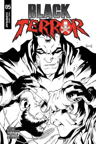 Black Terror #5 (30 Copy Coleman B&W Cover)