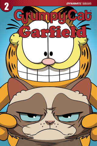 Grumpy Cat / Garfield #2 (Uy Cover)