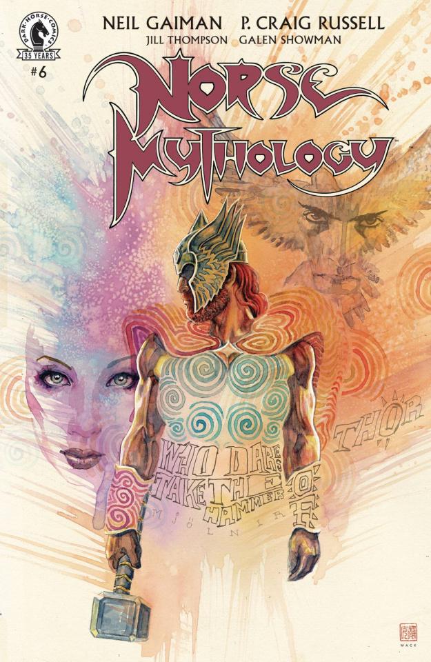 Norse Mythology #6 (Mack Cover)