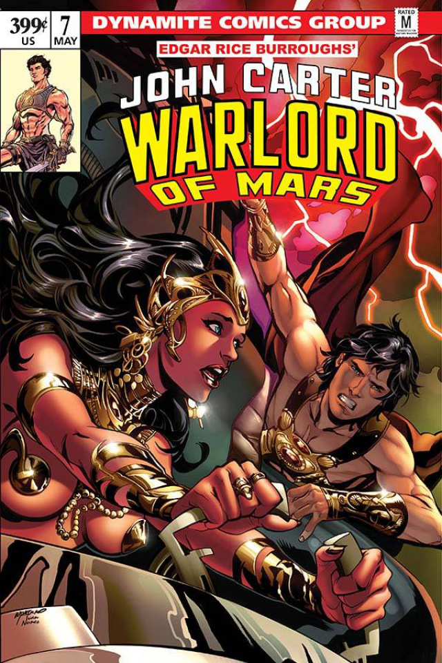 John Carter: Warlord of Mars #7 (Lupacchino Cover)