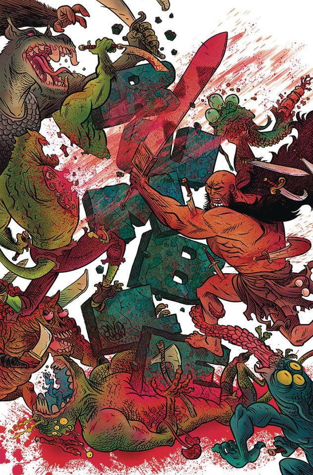 Rumble #9 (Rubin Cover)0