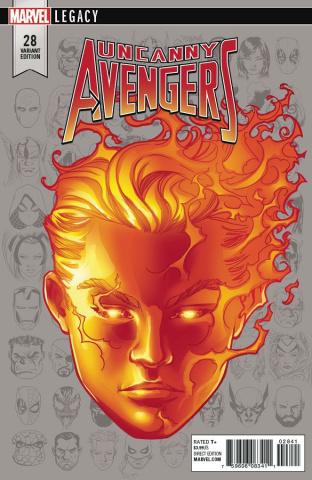 Uncanny Avengers #28 (Mckone Legacy Headshot Cover)