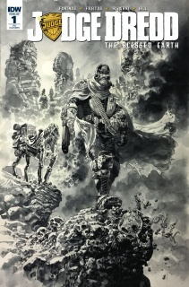 Judge Dredd: The Blessed Earth #1 (10 Copy Cover)