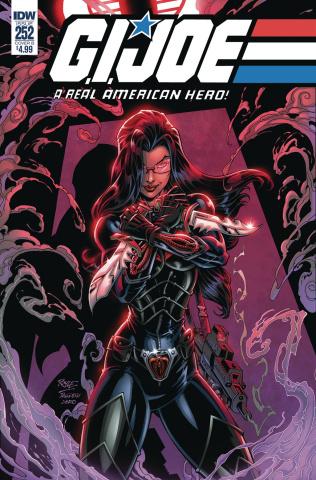 G.I. Joe: A Real American Hero #252 (Royle Cover)