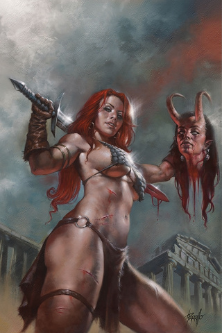 Red Sonja: Age of Chaos #3 (Parrillo Virgin Cover)
