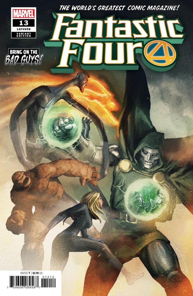 Fantastic Four #13 (Parel / BobG Cover)
