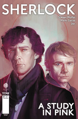Sherlock: A Study in Pink #1 (Reis Cover)