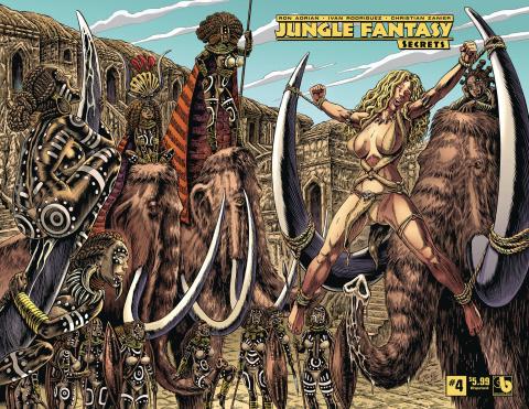 Jungle Fantasy: Secrets #4 (Wrap Cover)