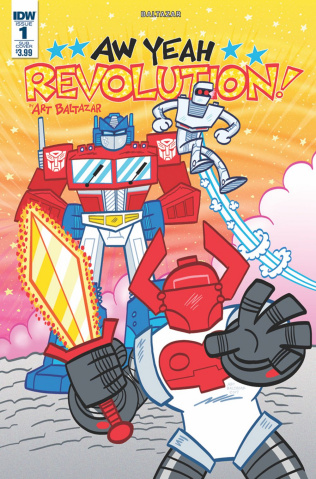 Revolution: Aw Yeah! #1 (Subscription Cover)