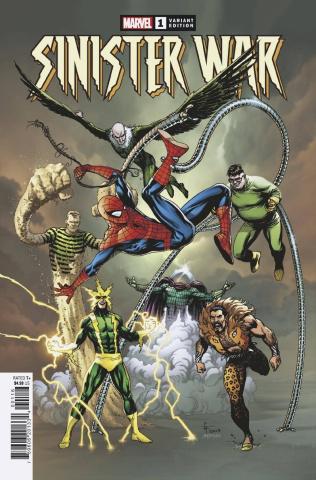Sinister War #1 (Frank Cover)