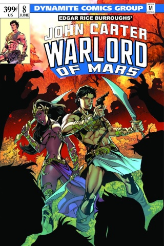 John Carter: Warlord of Mars #8 (Lupacchino Cover)