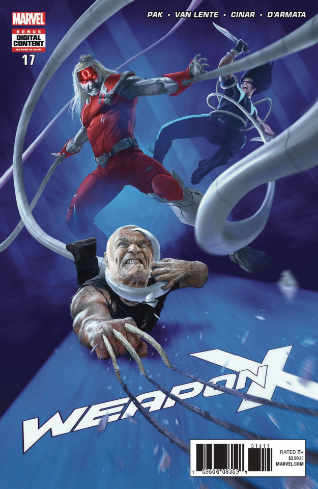 Weapon X #18