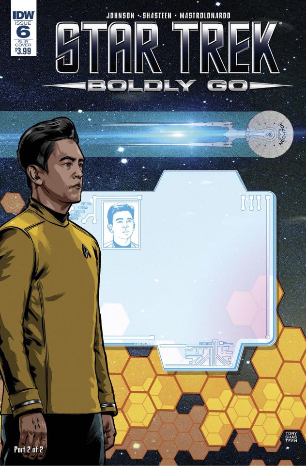 Star Trek: Boldly Go #6 (Subscription Cover)