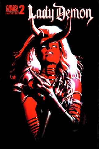 Lady Demon #2 (Mayhew Subscription Cover)