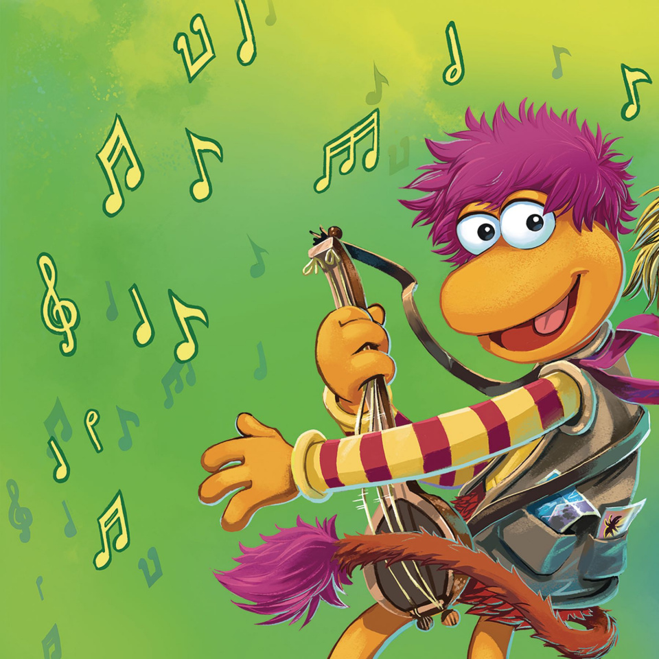 Fraggle Rock #1 (Subscription Myler Connecting Cover)