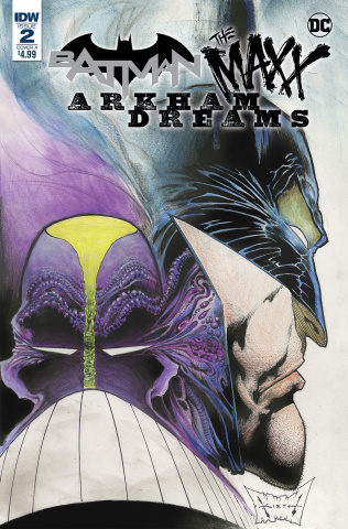 Batman / The Maxx: Arkham Dreams #2 (Kieth Cover)